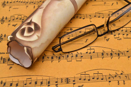 Music sheet photo