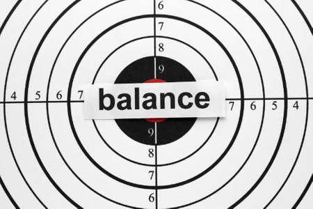 balanced budget: Balance target