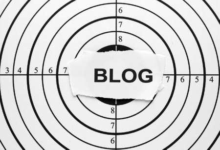 Blog target photo