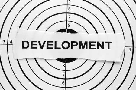 Development target photo