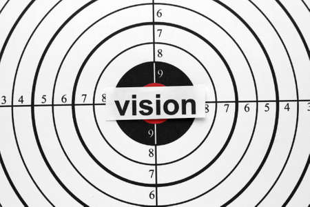 business project: Vision target