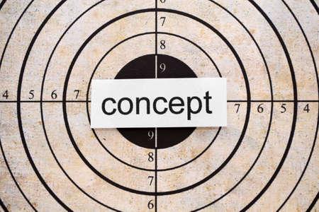 centering: Concept target