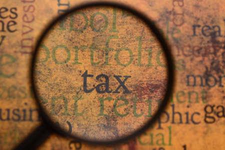 Tax-Konzept