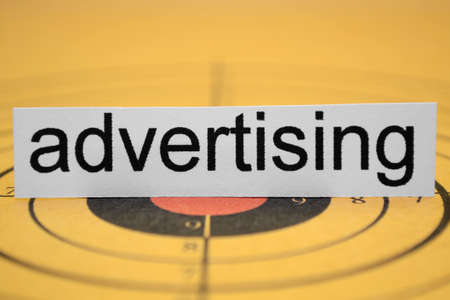 Advertisement target Stock Photo - 11978349