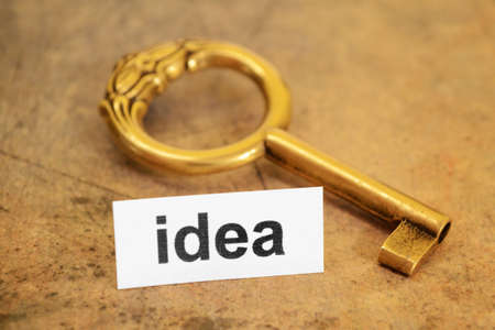 Idea and key concept Stock Photo - 11978376