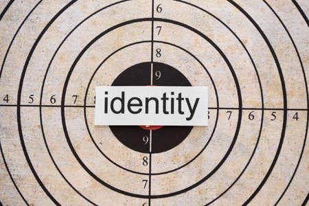 Identity target Stock Photo - 11978341