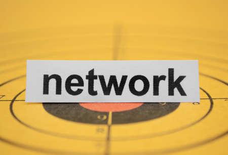Network target Stock Photo - 11978338
