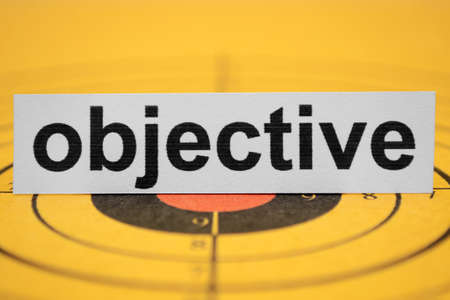 Objective Stock Photo - 11978368