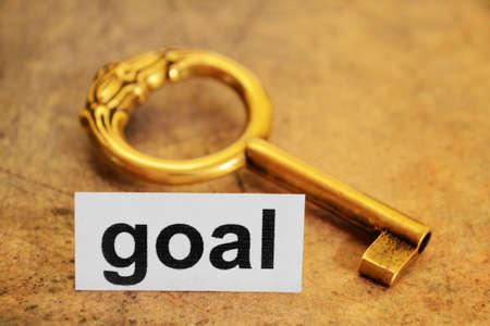Goal concept Stock Photo - 12149850