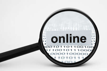 Online search concept photo