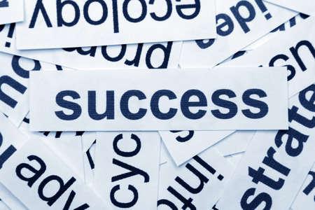 Success concept photo