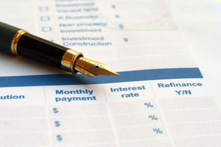 mortage: Loan application