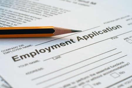 e recruitment: Employment application