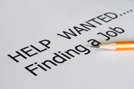 Find a job photo