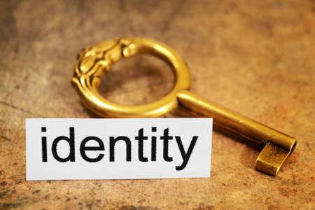 Identity concept photo