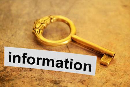comprehension: Information concept