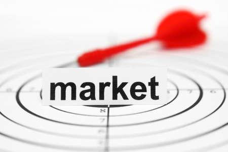 Market target photo