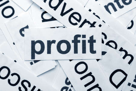 Profit concept Stock Photo - 12552375