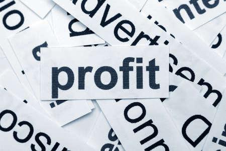 ent: Profit concept