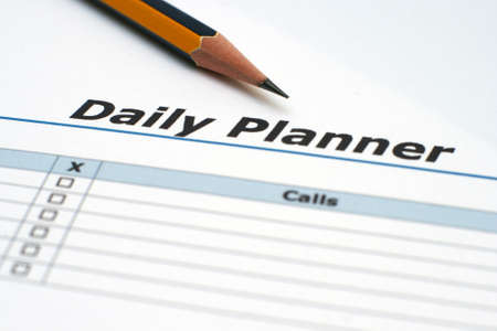 daily planner: Daily planner  Editorial