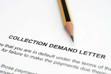 in demand: Demand letter