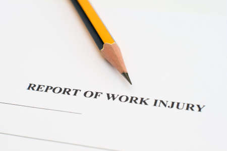 ecurity: Report of work injury