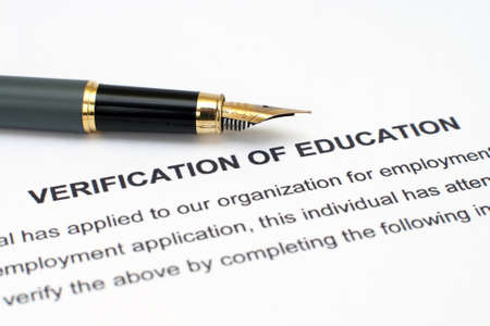 verification: Verification of education  Editorial