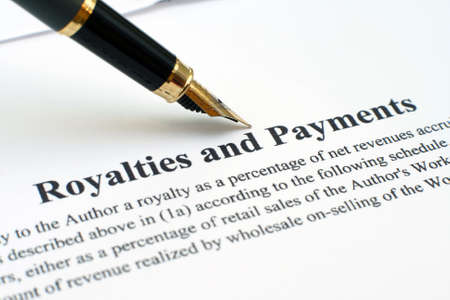 Royalties and payments Stock Photo - 12559141
