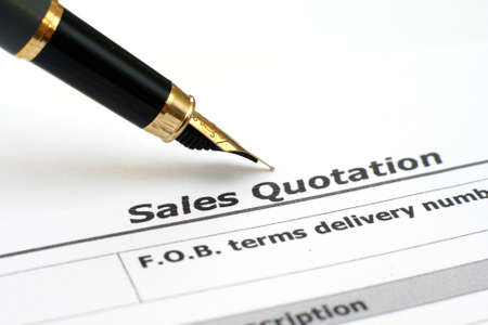 Sales quotation  Editorial