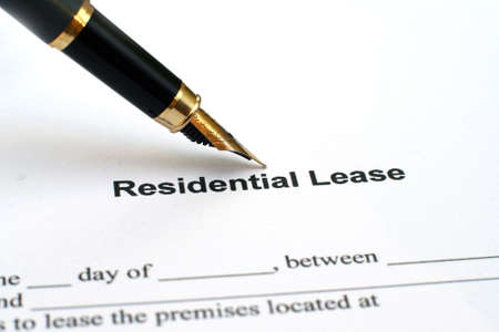 ess: Residential lease
