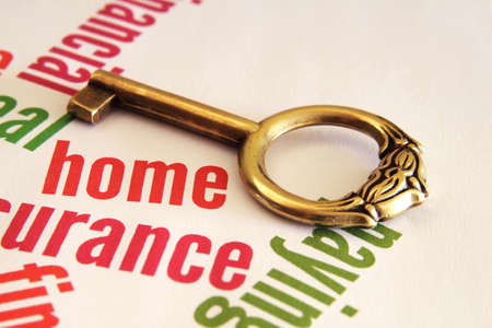 Home and key concept Stock Photo - 12559076