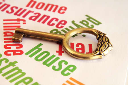 Home and key concept Stock Photo - 12559098
