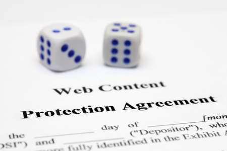 Protection agreement  Stock Photo - 12559064