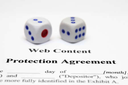 Protection agreement  Stock Photo - 12559065