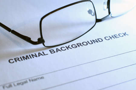 criminal act: Criminal background check Editorial