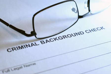 spousal: Criminal background check Editorial