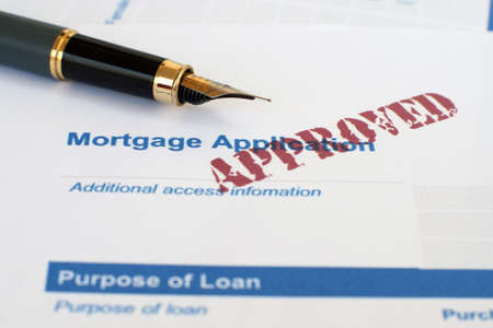 Mortgage application Stock Photo - 12558994