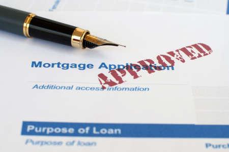 mortgage application: Mortgage application