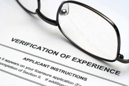 referenz: Nachweis der Erfahrung