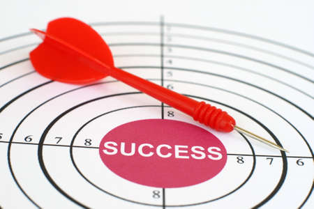 Success target Stock Photo - 12555626