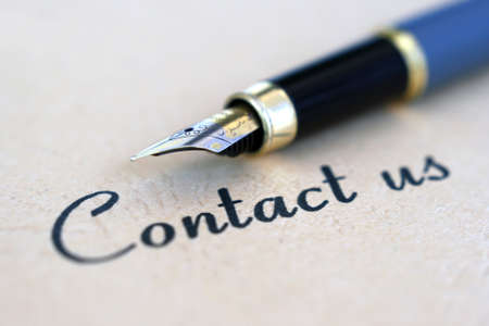 Contact us Stock Photo - 12558798