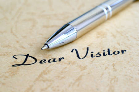 Dear visitor photo