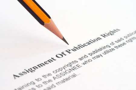 Asignment of publication rights