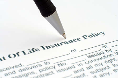 Life insurance policy Stock Photo - 12558848