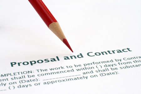 La propuesta y el contrato de