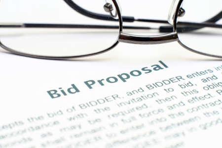 bid: Oferta formulario de propuesta