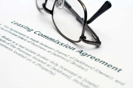 commision: Leasing commision agreement