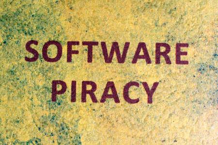 Web piracy concept photo