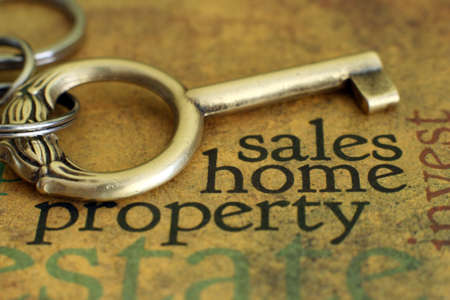 Sales home property concept