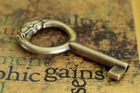 keys to success: Gains concept